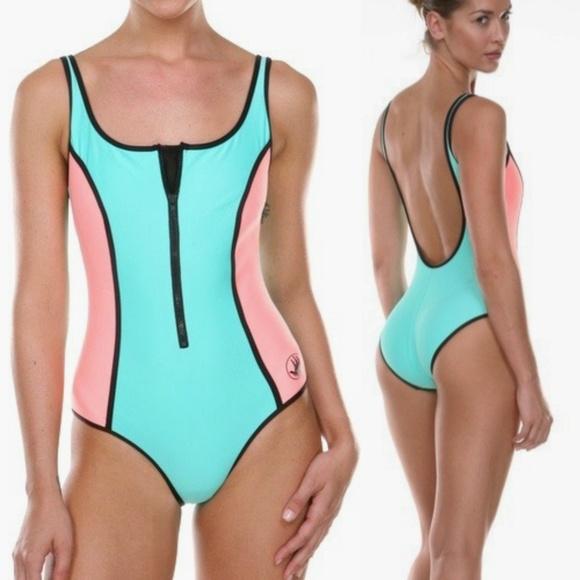 28154138270 Body Glove Other - Body Glove Vintage retro neoprene swimsuit m